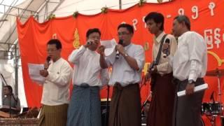 Myanmar Thingyan ( water festival ) Singapore p-5
