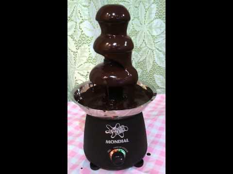 Fonte de chocolate! Por Matheus França