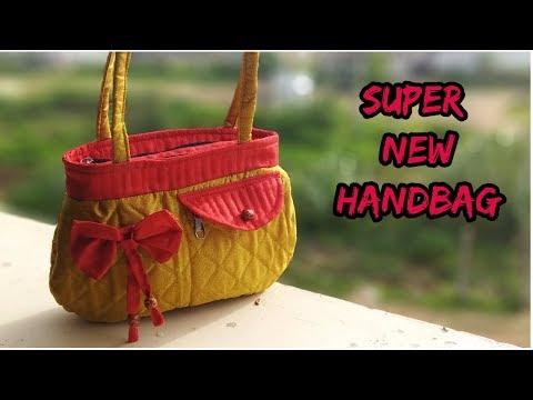 super handbag make at home/handbag cutting and sewing in Hindi/