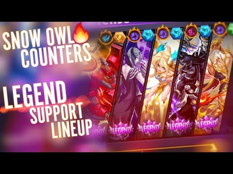 """Magic Rush: Snow Owl Ends The Meta Lineup """"Legend Support Team"""""""