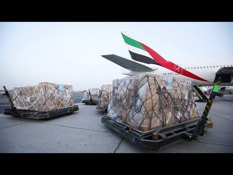 Emirates SkyCargo Transports Flood Relief Cargo For Kerala | Emirates SkyCargo