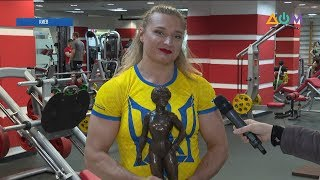 Украинская стронгвумен: как тренируется самая сильная женщина планеты
