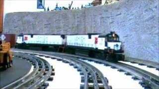 "MTH Electric Trains Lehigh Valley ""Snowbird"" ALCo C628"