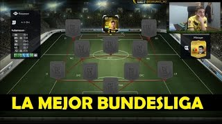 FIFA 15 | LA MEJOR PLANTILLA BUNDESLIGA | Ultimate Team | DjMaRiiO
