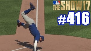 CARTWHEELING HOME! | MLB The Show 17 | Road to the Show #416