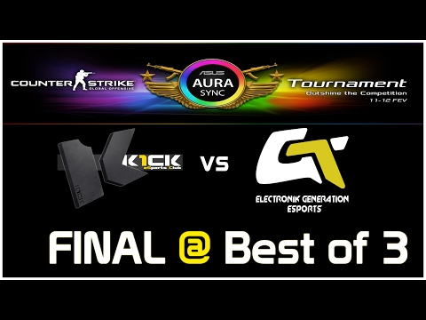 K1CK VS EGN.PRO - ASUS AURA TOURNAMENT FINAL