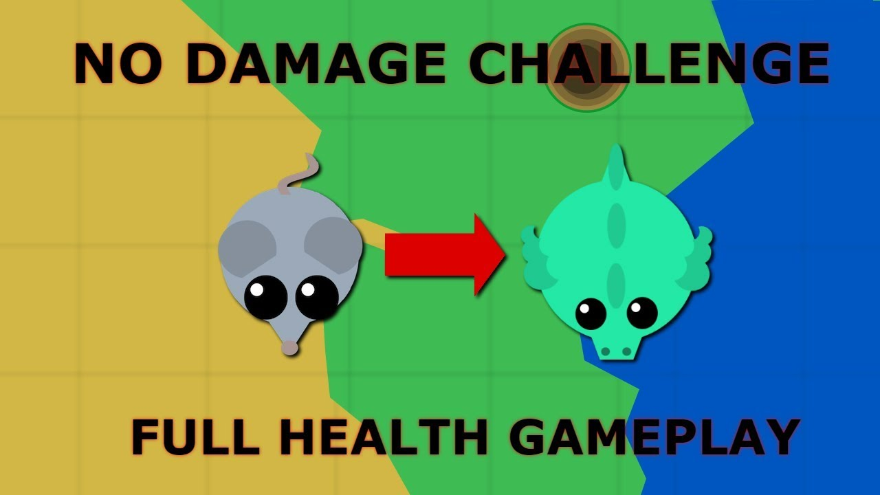 Download I GOT DRAGON WITHOUT GETTING DAMAGED! // NO HEALTH CHALLENGE!! // MOPE.IO