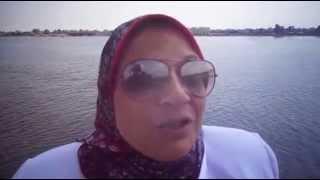 منى المنياوى رئيس أذاعة الشباب والرياضة : لم أملك دموعى وأنا أشاهد المياه فى القناة