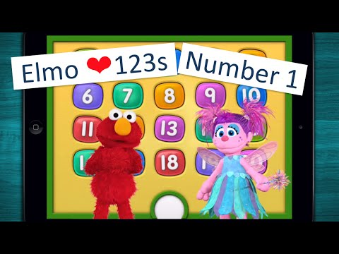 ∞ Elmo Loves 123s - Teach your child about numbers and counting - [Number 1]