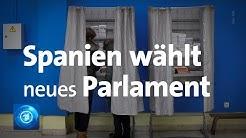 Zum vierten Mal in vier Jahren: Parlamentswahl in Spanien
