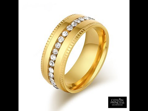 Sri Lanka New Design Rings Gold Plated Jewellery