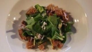 Feldsalat mit Kartoffeldressing Rezept - Der Bio Koch #152