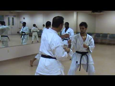 Kumite Drills at Coconut Creek Karate