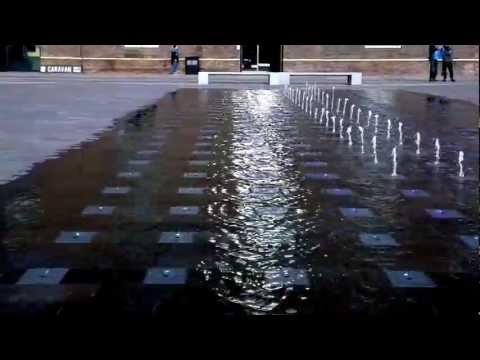 The Fountains Of Granary Square Find Their Rhythm