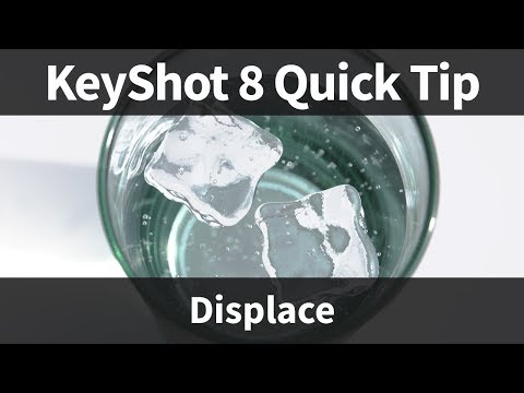 KeyShot 8 Quick Tip: Displacement