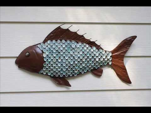 Beau Outdoor Wall Decor | Outdoor Wall Decor Fish   YouTube