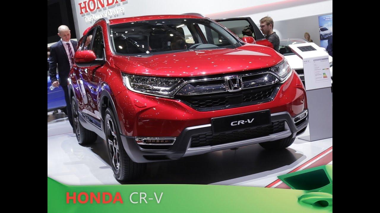 Honda CR-V en direct du salon de Genève 2018 - YouTube