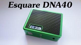 Боксмод Esquare DNA40 by LostVape(Небольшой обзор боксмода Esquare DNA40 от LostVape Установленная плата - DNA40 Корпус - анодированный алюминий Умеет..., 2015-07-09T22:42:19.000Z)