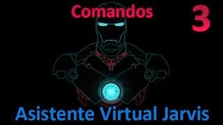 Comandos del Asistente Virutal Jarvis