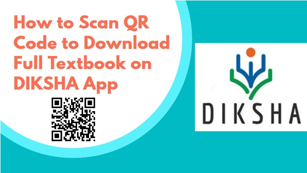 How to Scan QR Code to Download Full Textbook on DIKSHA App
