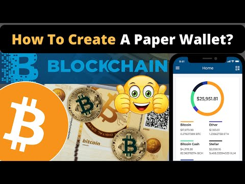 How To Create Bitcoin Paper Wallet  | Generator Of Bitcoin Paper Wallet