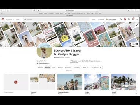 Pinterest Audit: Luckey Alex