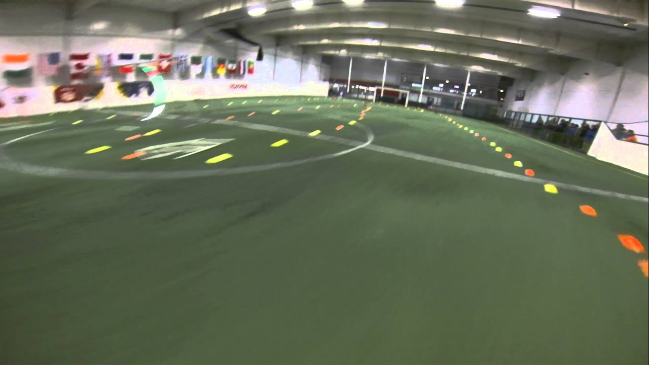indoor drone racing