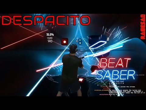 Beat Saber - Despacito - Darth Maul style - special request from chat