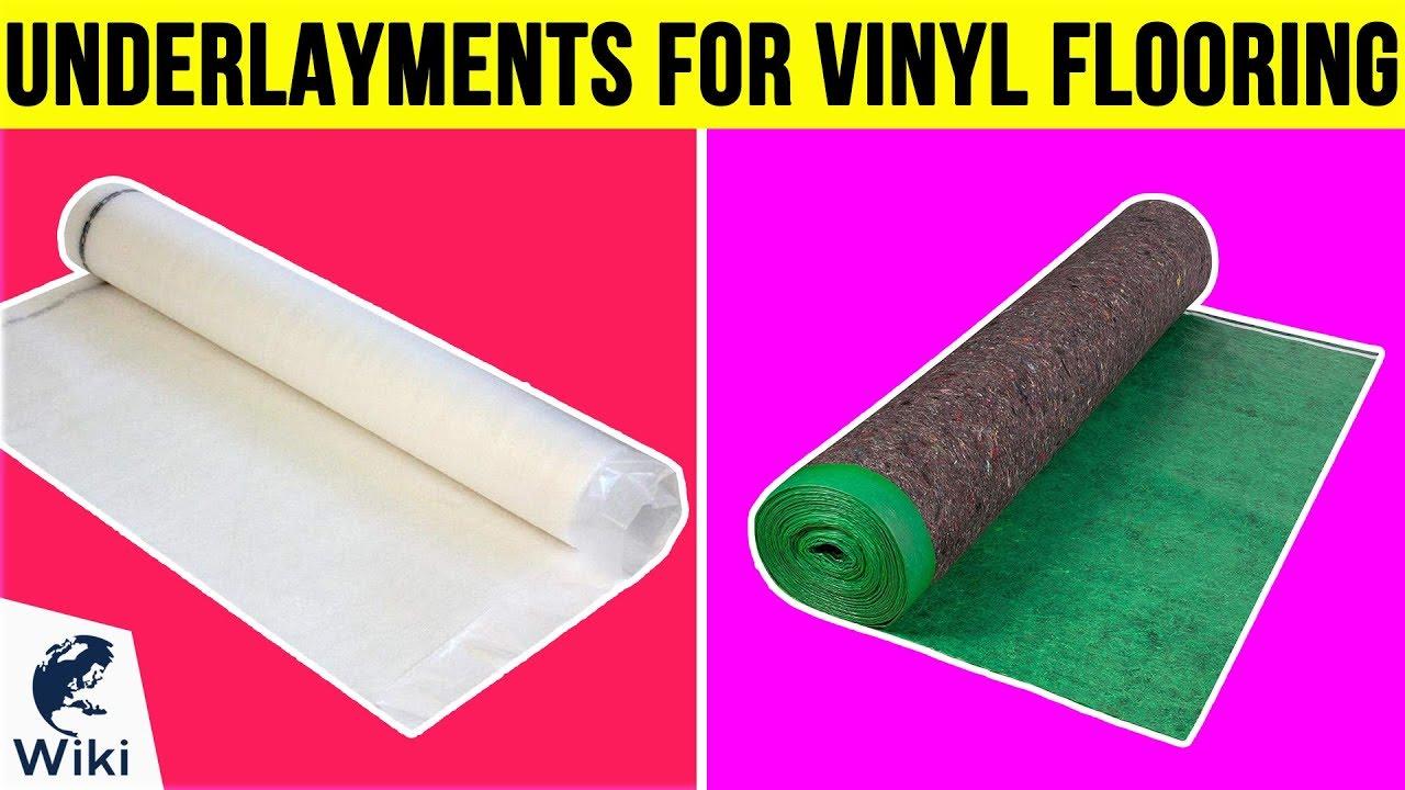 7 Best Underlayments For Vinyl Flooring 2019 Youtube