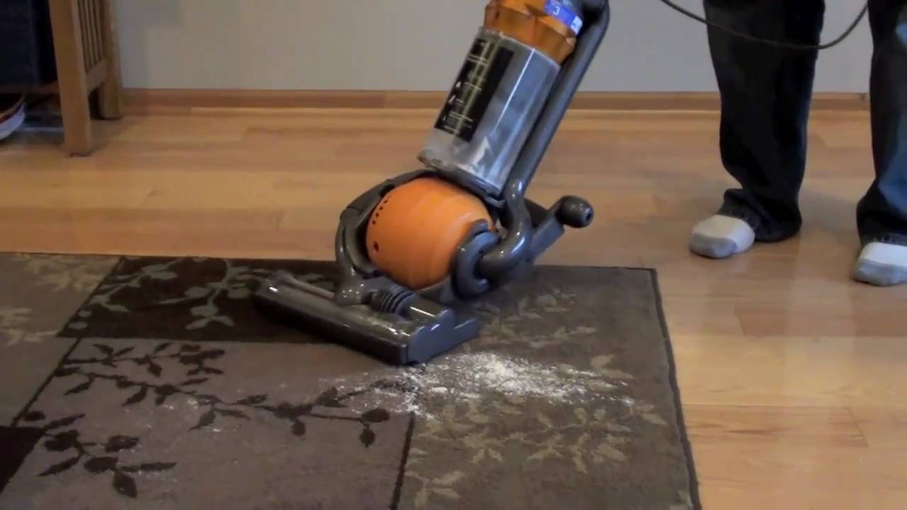 Dyson Dc25 Ball All Floors Bagless Vacuum Review Youtube