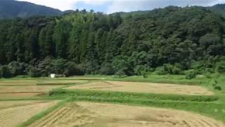 丹後由良~栗田駅、京都丹後鉄道宮舞線、進行方向左側車窓から