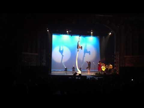 Final act at Symbiotic Circus Missoula 2/14/12