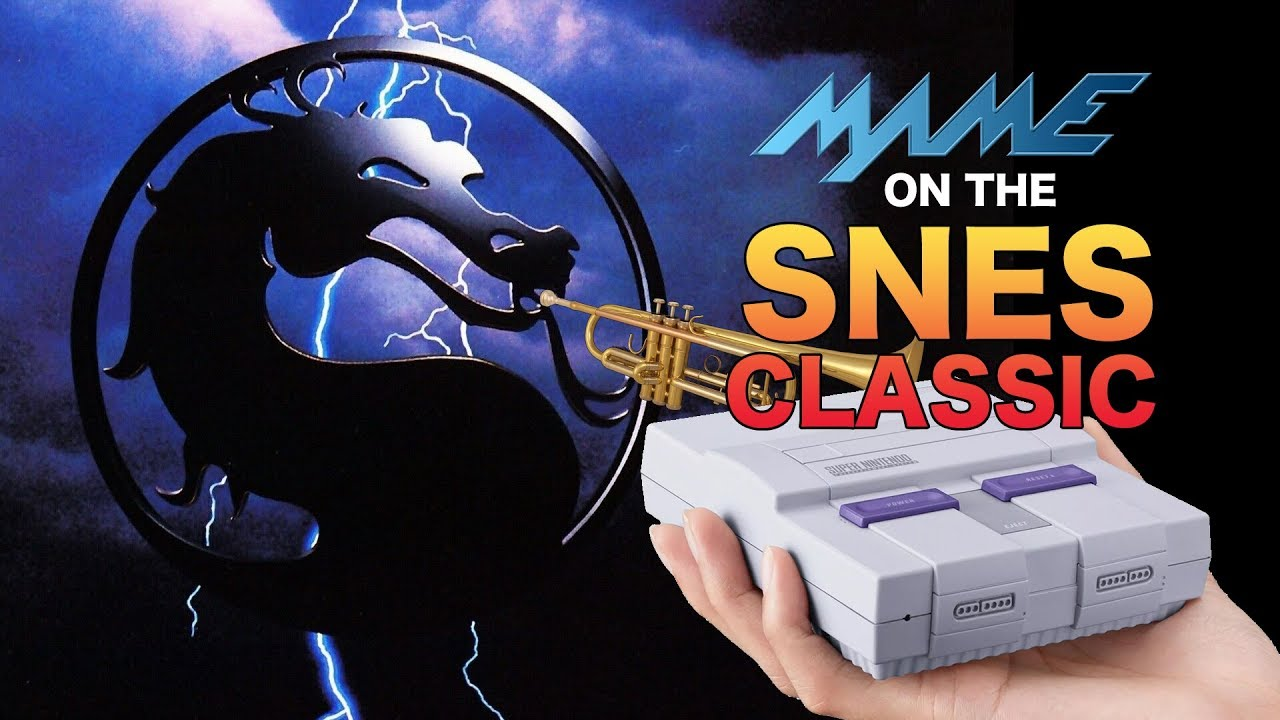 How to play Mortal Kombat MAME Arcade Roms on the SNES Classic
