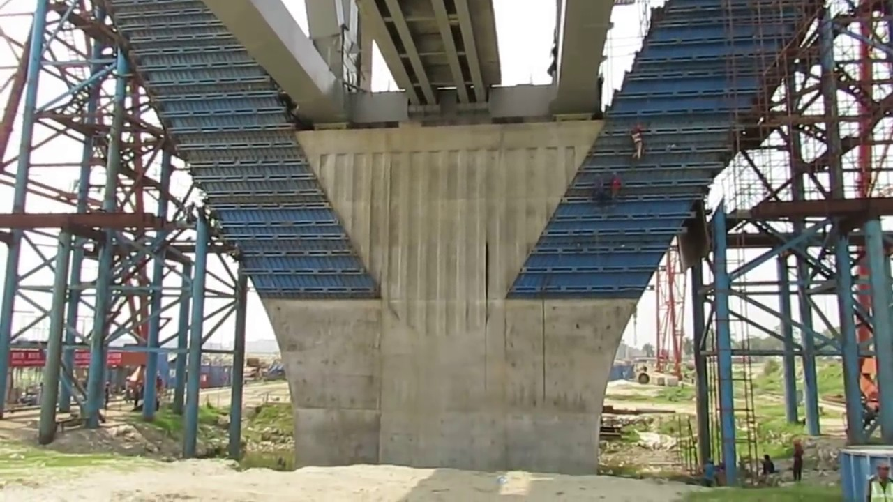 পদ্মা সেতু -সর্ববৃহৎ ও সবচেয়ে শক্তিশালী পিলারের নিচ থেকে দেখুন জাজিরার অগ্রগতি - Padma Bridge