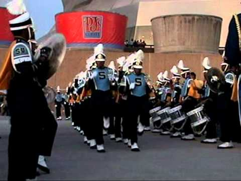 Southern University Marching out Bayou Classic 09