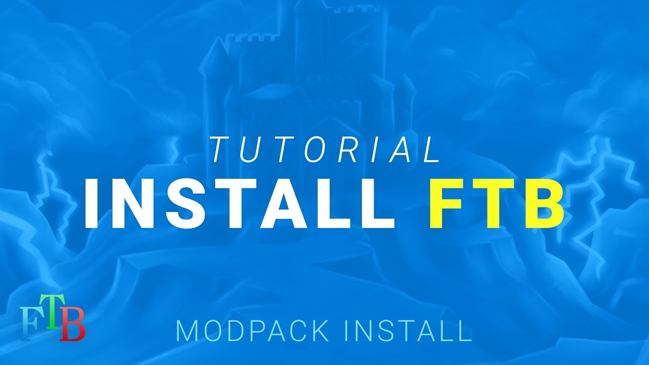 How to install any Feed The Beast (FTB) Modpack