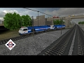 INTS WDP4 Couple locomotives Running.Indian Train Games.Indian Railways