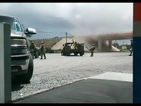 😟 Intense Encounter Between the Mexican Army and Cartel Near US Border!