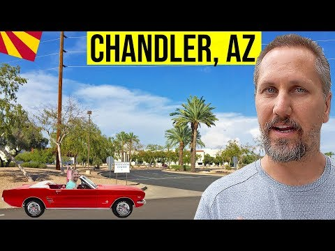 Chandler, AZ Driving Tour: Living In Phoenix, Arizona Suburbs