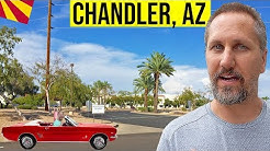 Chandler, Arizona Tour: Moving / Living In Phoenix, Arizona Suburbs (Chandler, AZ)