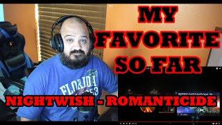 NIGHTWISH - Romanticide (OFFICIAL LIVE VIDEO) Reaction