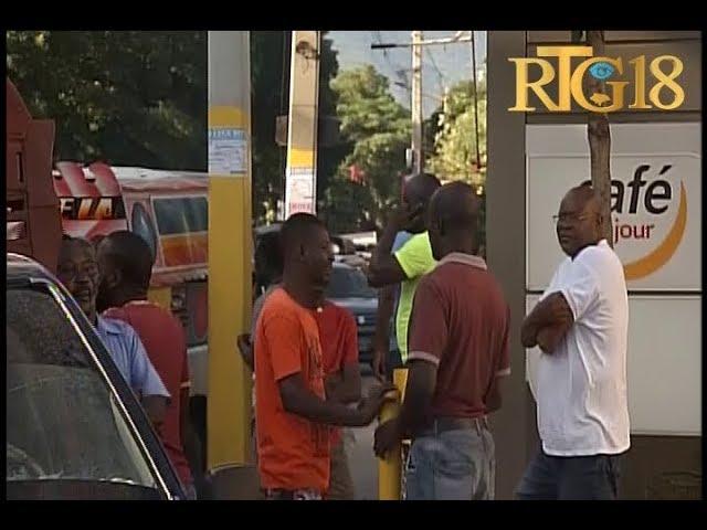 Haïti .- Station-service Total / Delmas 31