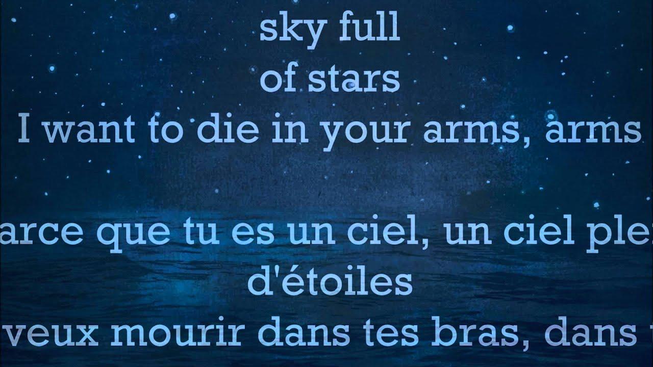 Coldplay - A Sky Full Of Stars (Lyrics+Traduction) - YouTube