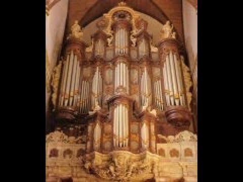 Feike Asma speelt psalm 138 Orgel Oude kerk Amsterdam