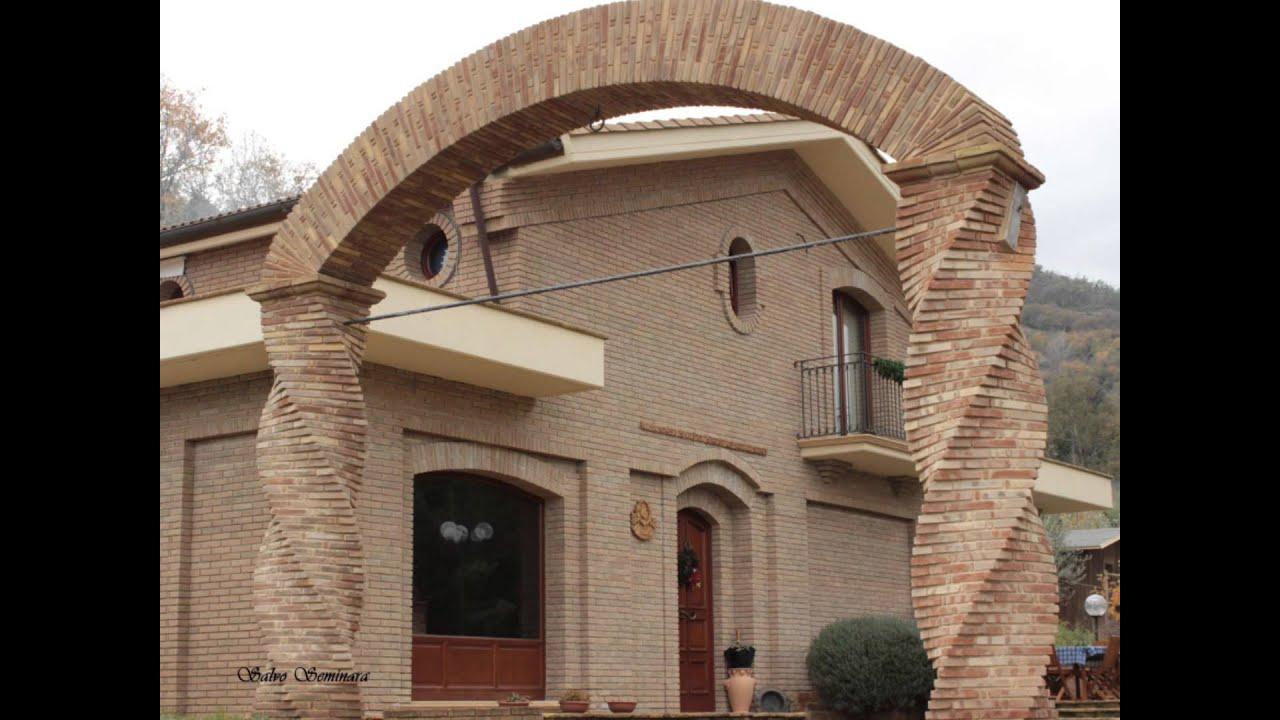 Arco con mattoni a vista ispirazione di design per la for Case di mattoni ranch