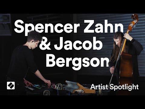 Novation // SL MkIII - Spencer Zahn & Jacob Bergson: 'Cyanotype' live