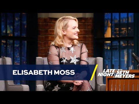Elisabeth Moss Has a Personalized Cubs Handmaid's Tale Bonnet