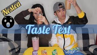 Masarap ba talaga? | Nestea Milk Tea Taste Test | Nestea | Milk Tea Lover | Diandrew