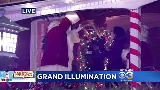 2018 Grand Illumination Celebration at Peddler's Village  | CBS Philly