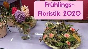 Frühlingsfloristik im Blumenladen - Geschenk Ideen und Inspirationen Frühling 2020 Flora Line